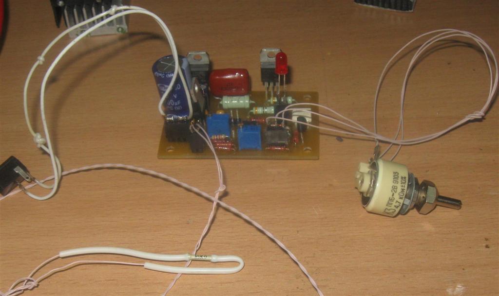 Терморегулятор для цыплят своими руками