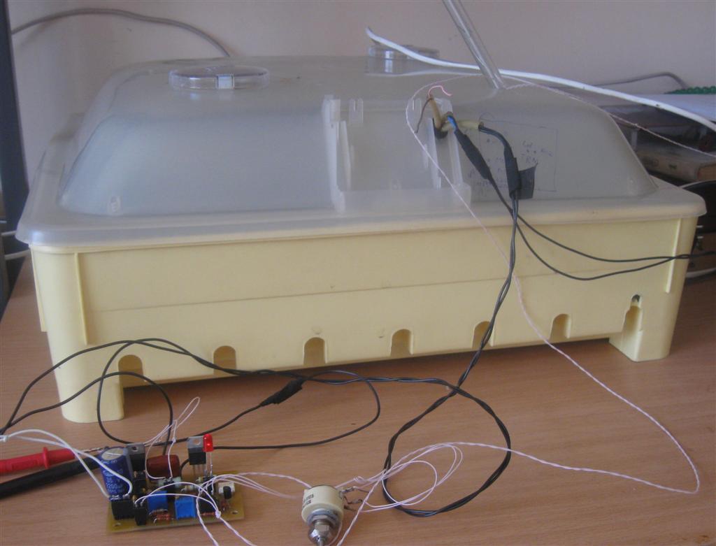 схема терморегулятор для инкубатора три-02