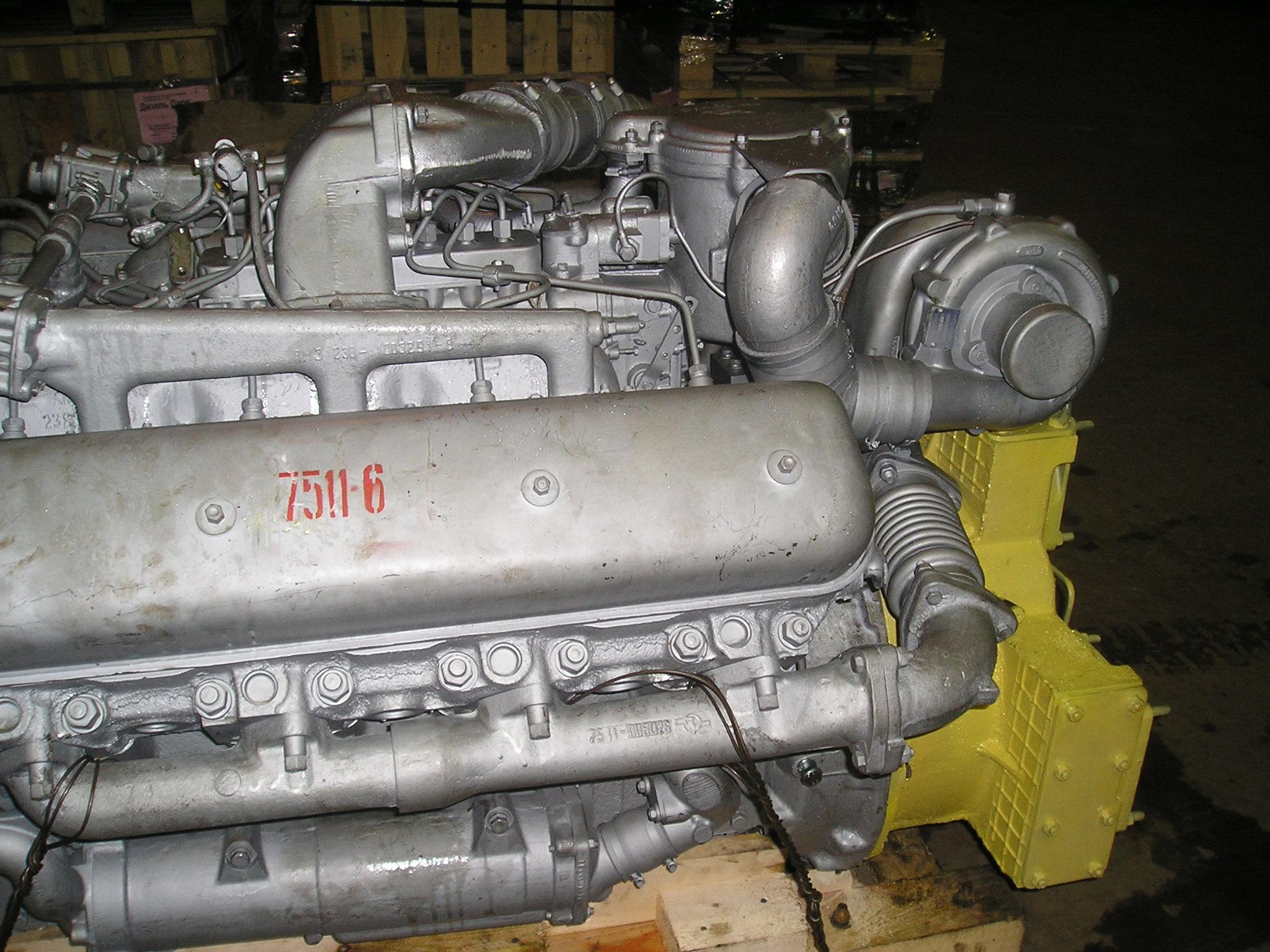 инструкция по ремонту двигателя ямз-75-11