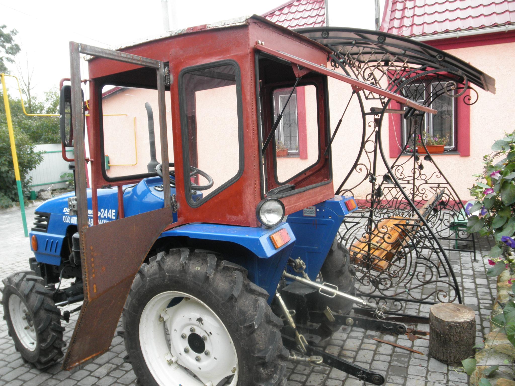 Самодельная кабина на самодельный минитрактор