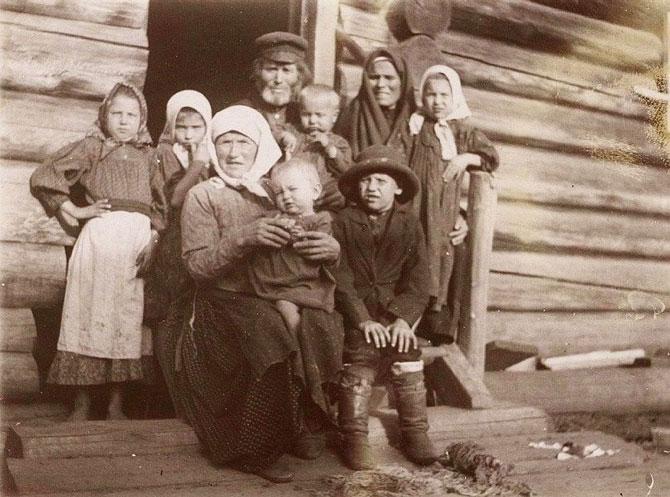 Ретро фотографии русских крестьян STENA.ee