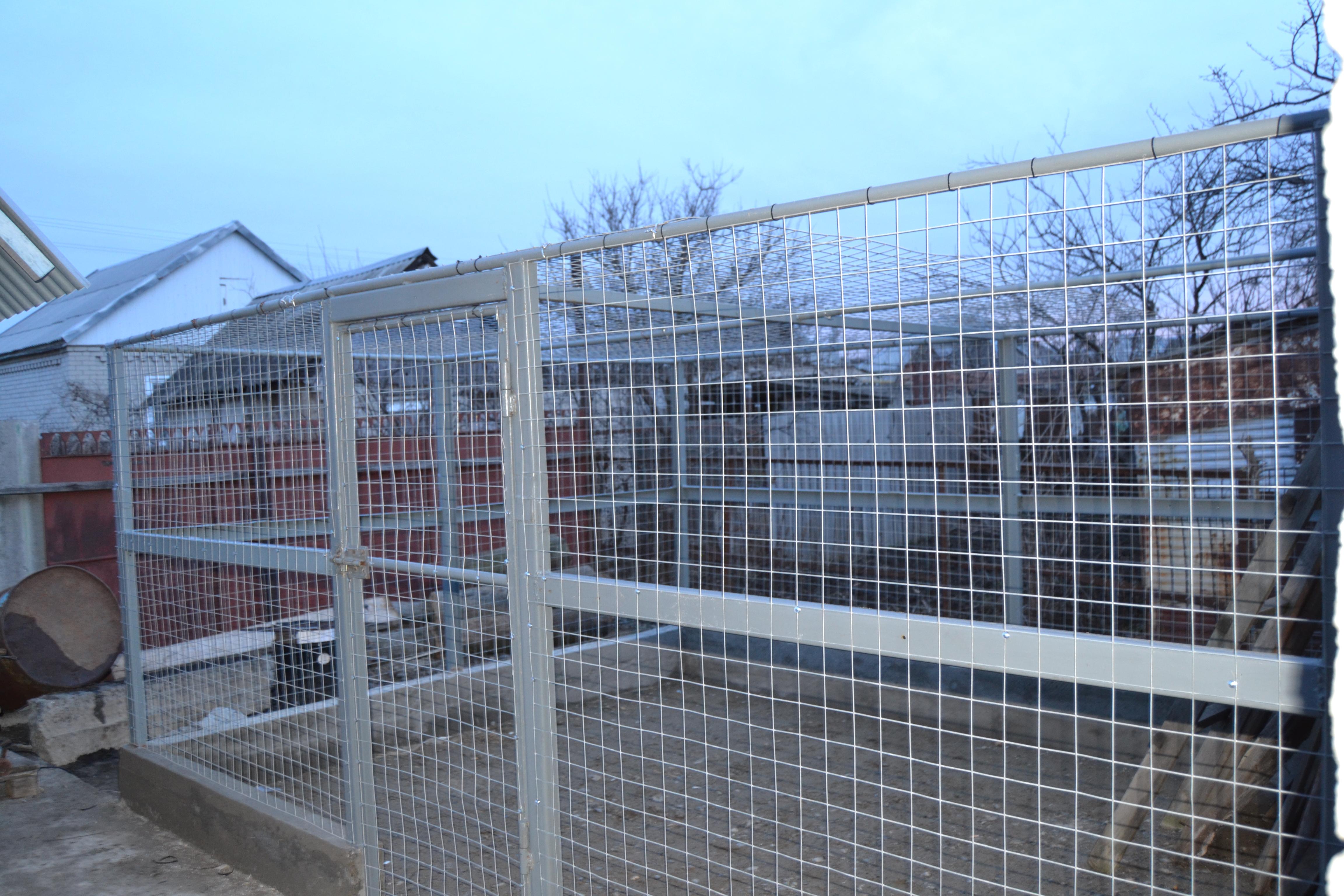 Забор для курей