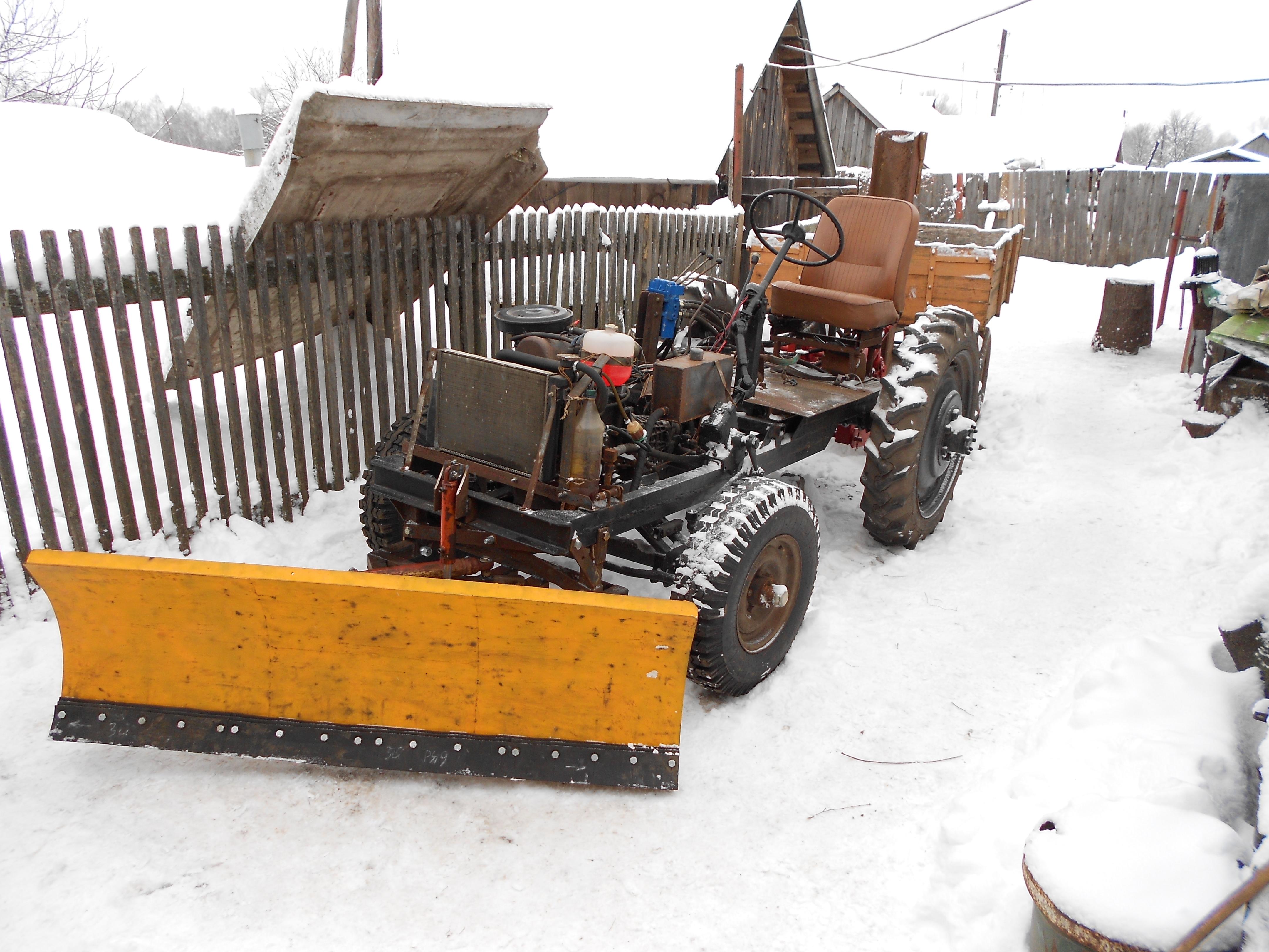 Как сделать трактор своими руками 64
