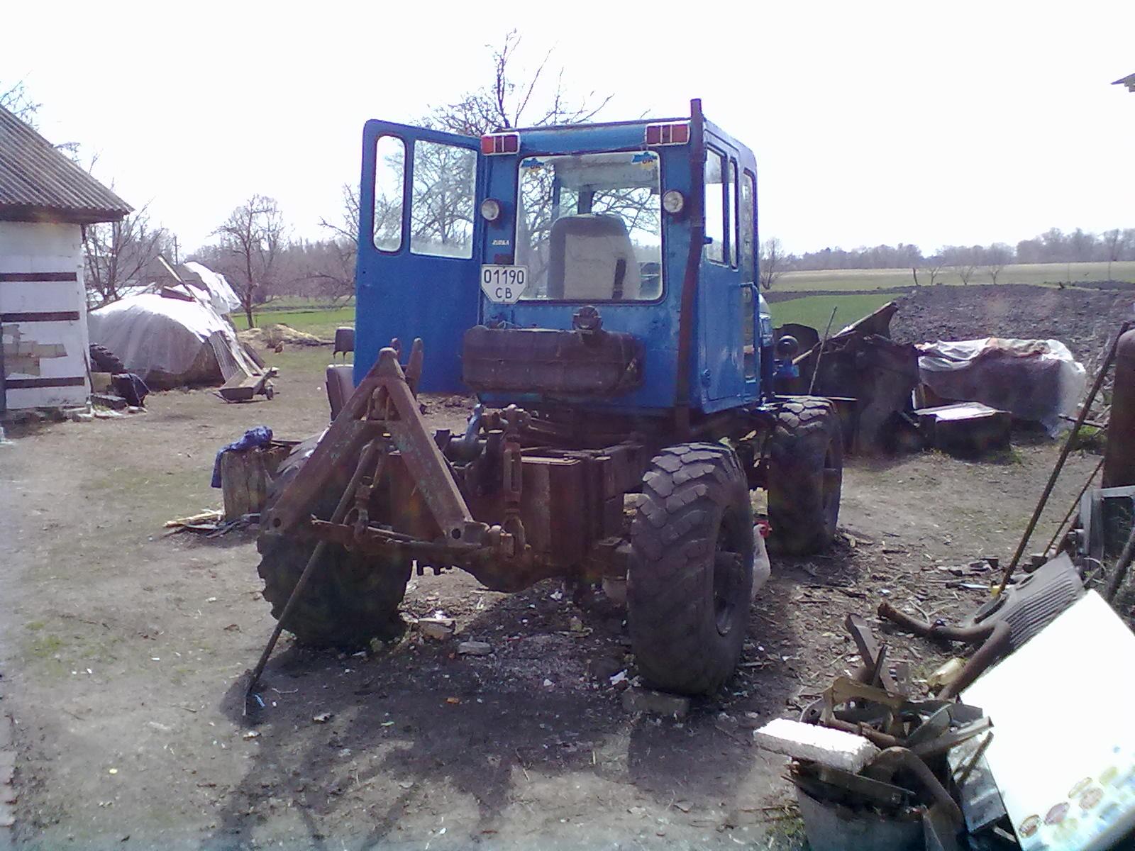 трактор с газ 66 последние