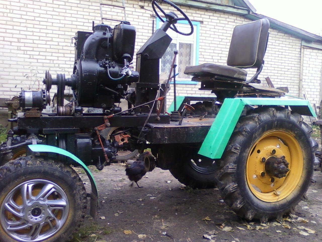 Трактор своими руками из урала