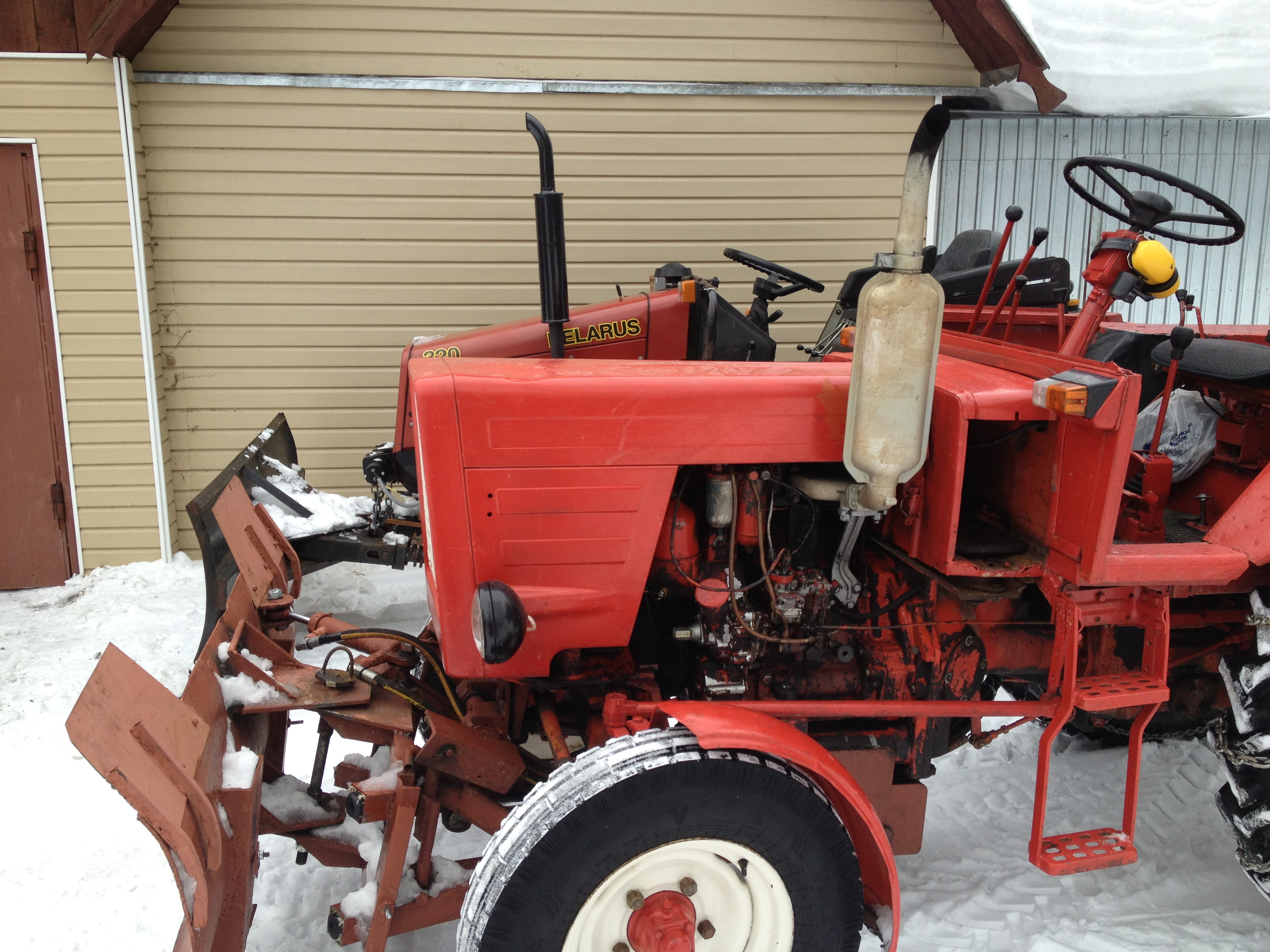 Лопата для трактора мтз 82