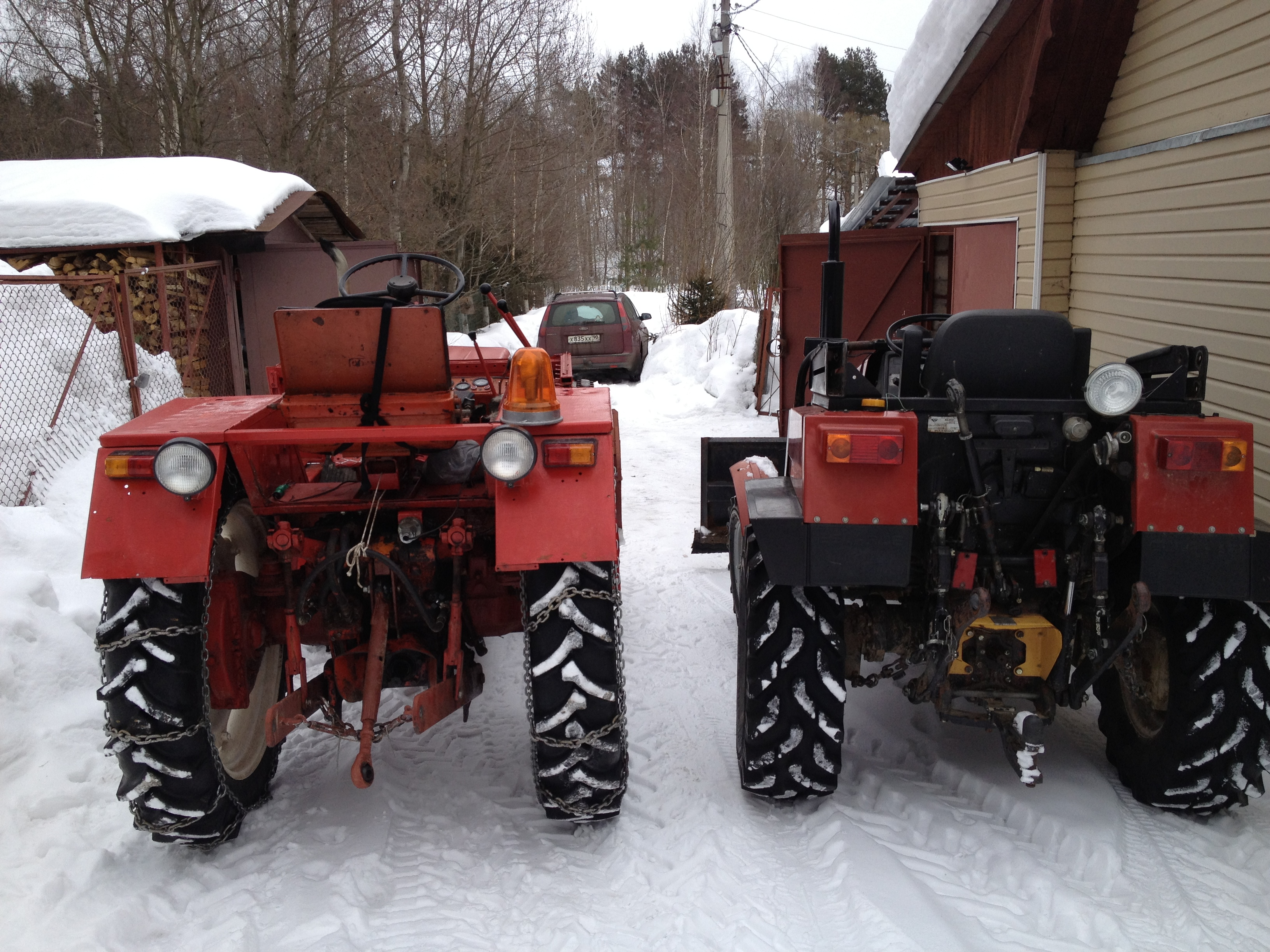 Выхлопная труба на польский трактор фермер