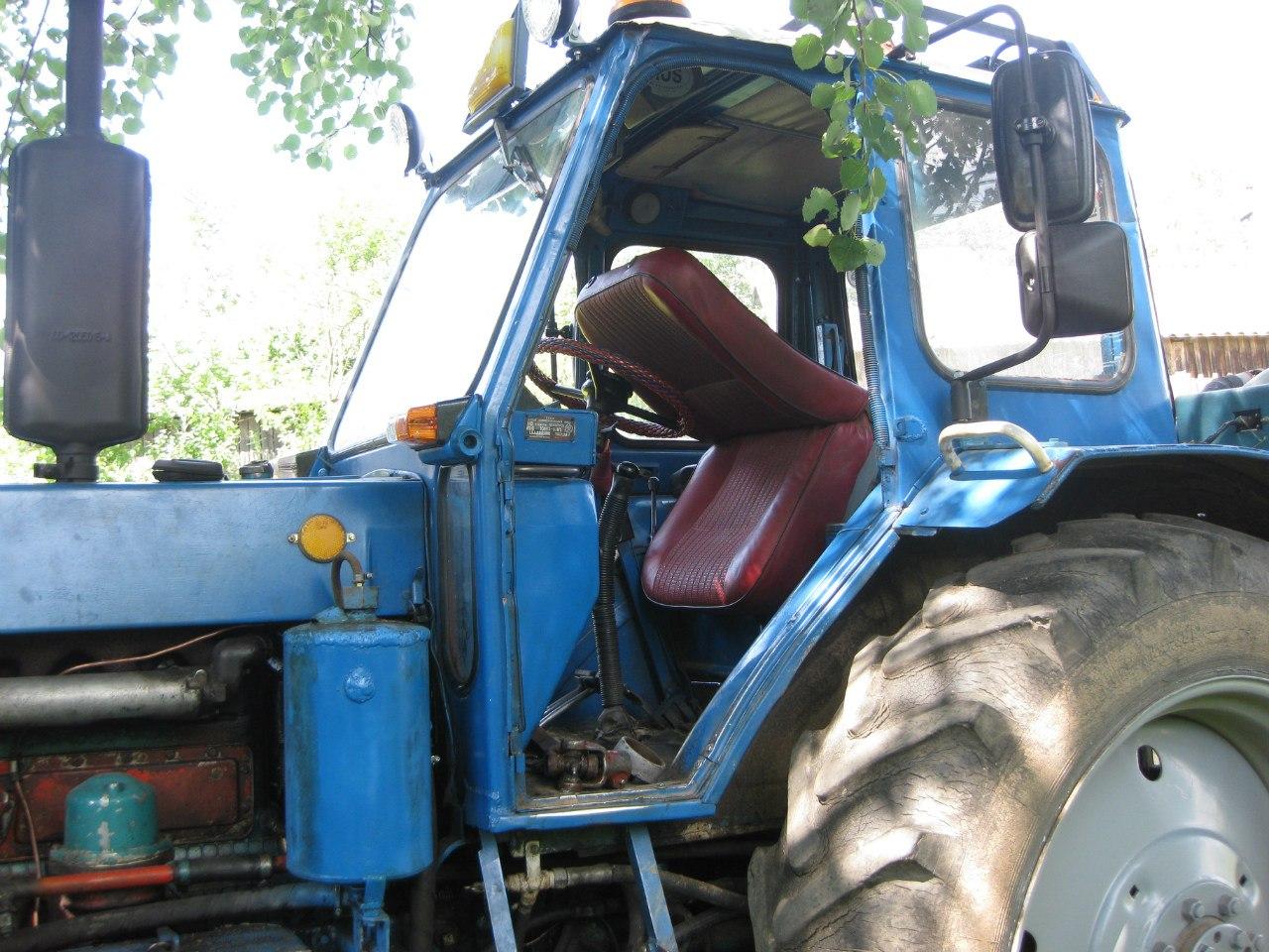 Тюнинг своими руками на трактор 172