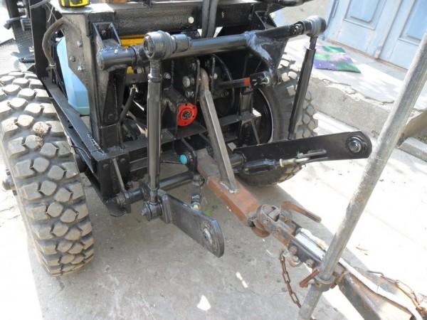 Самодельная навеска на самодельный трактор своими руками