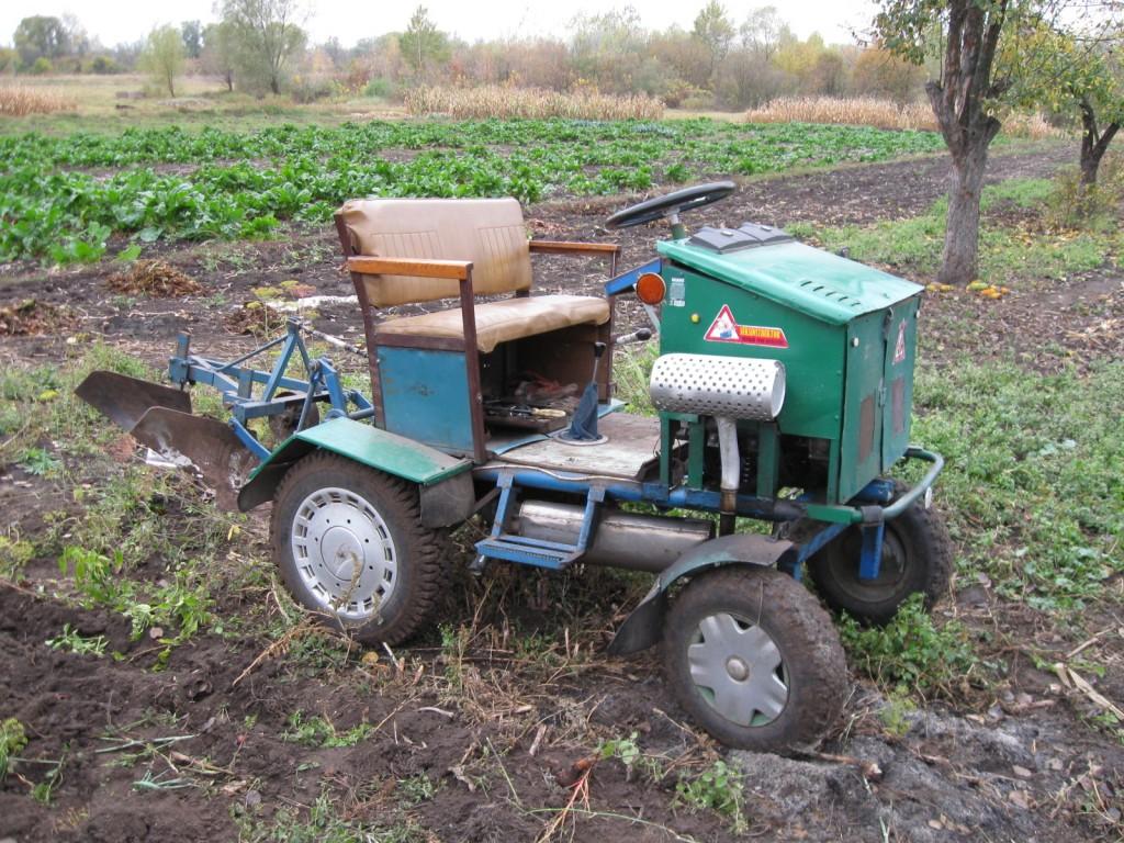Трактор из мотоблока форум