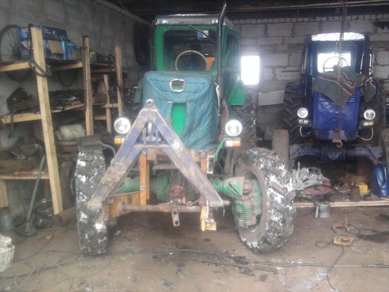 передняя навеска на трактор | Fermer.Ru - Фермер.Ру.