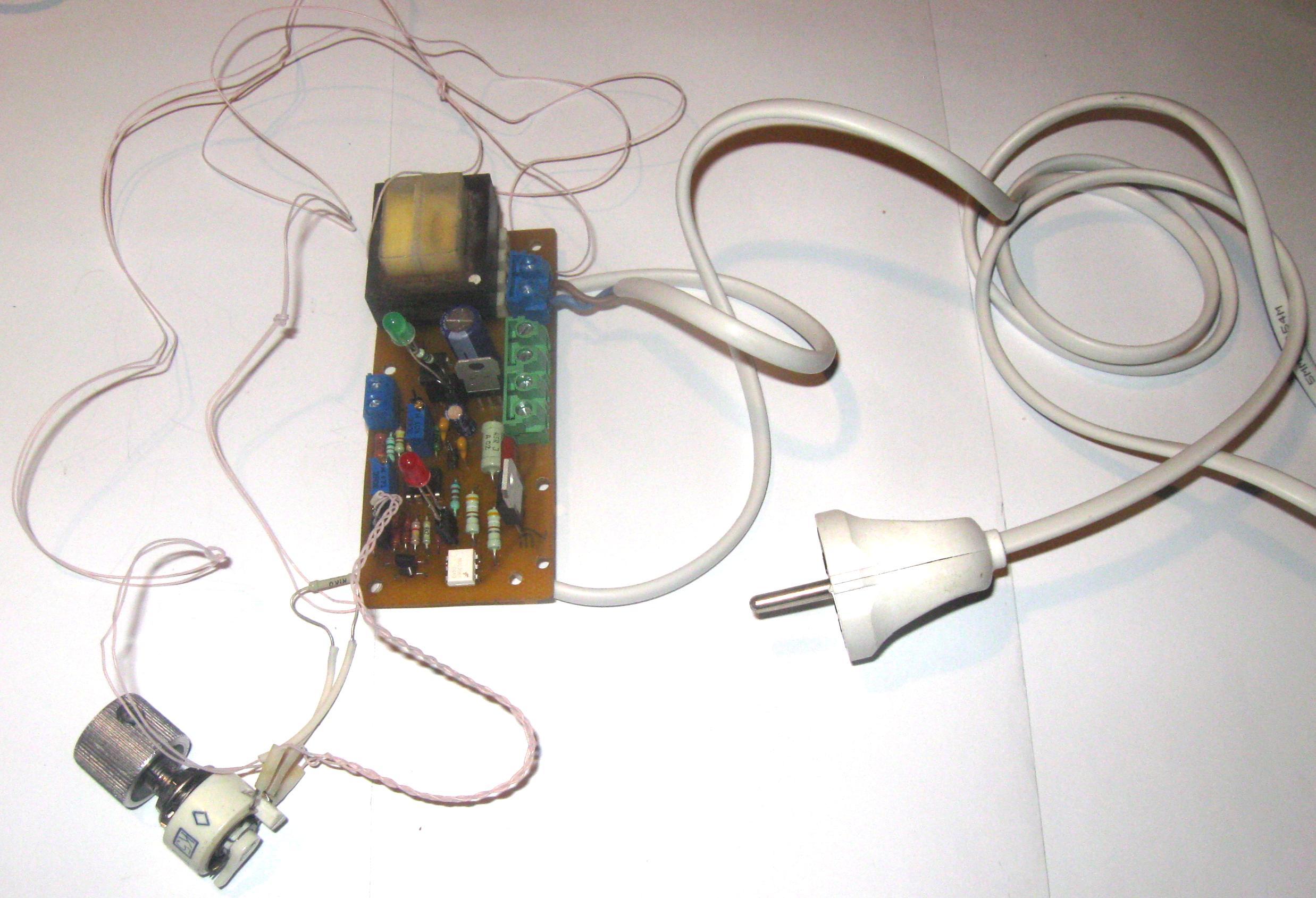 схема терморегулятора на lm335