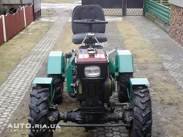 Трактор из мотоблока фото
