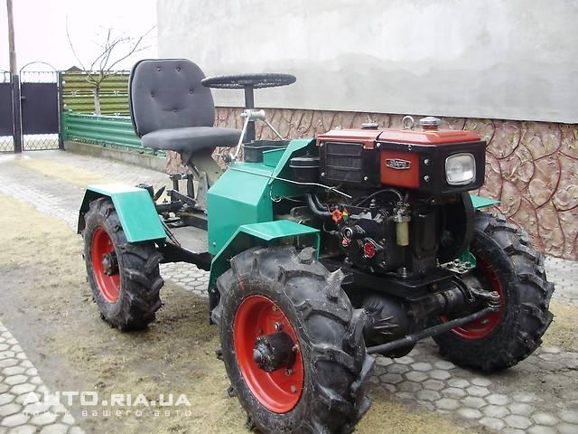 Сделать трактор с мотоблока