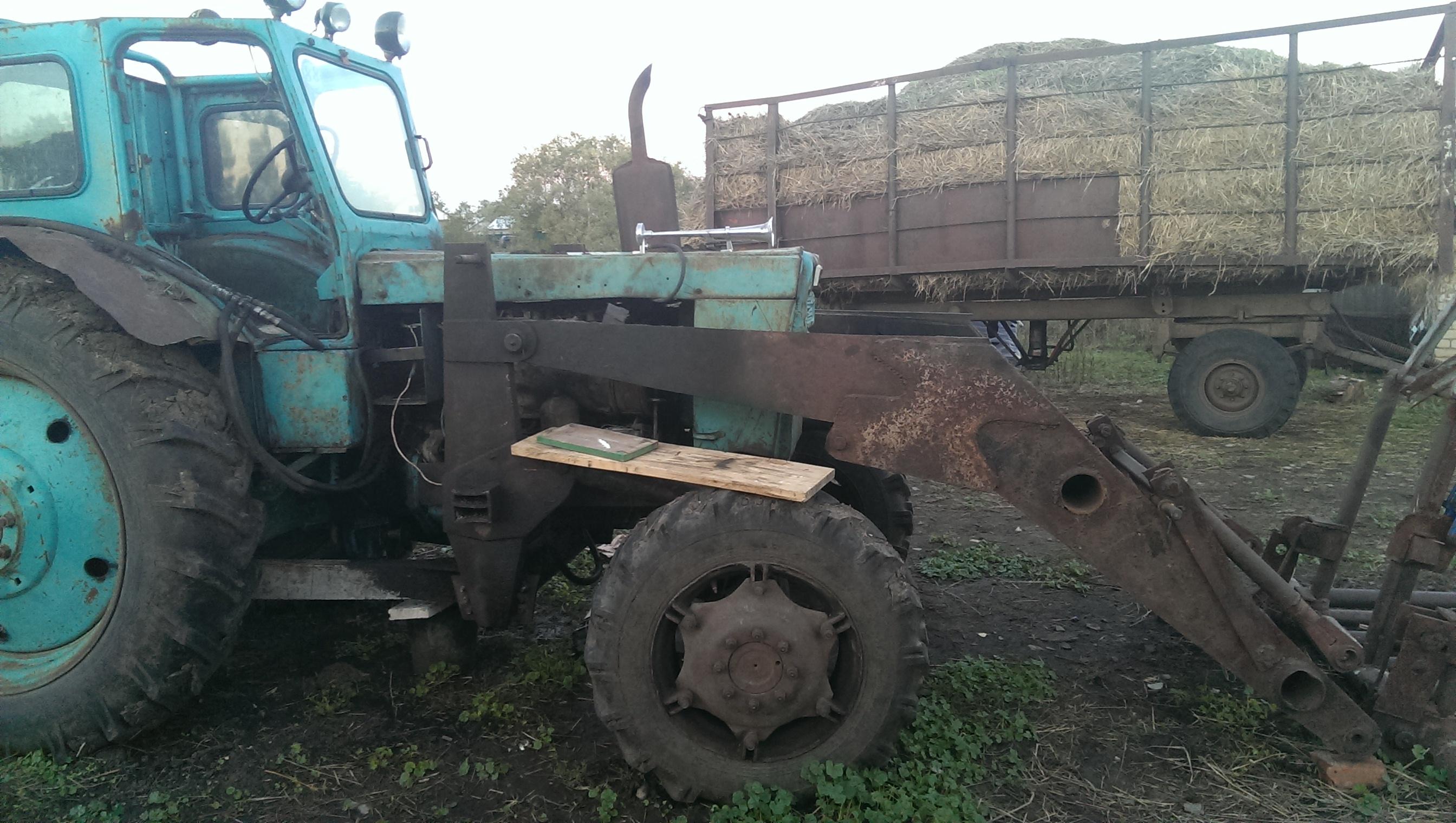 Самодельный КУН на Т -40 - Фермер. Ру - Главный фермерский 10