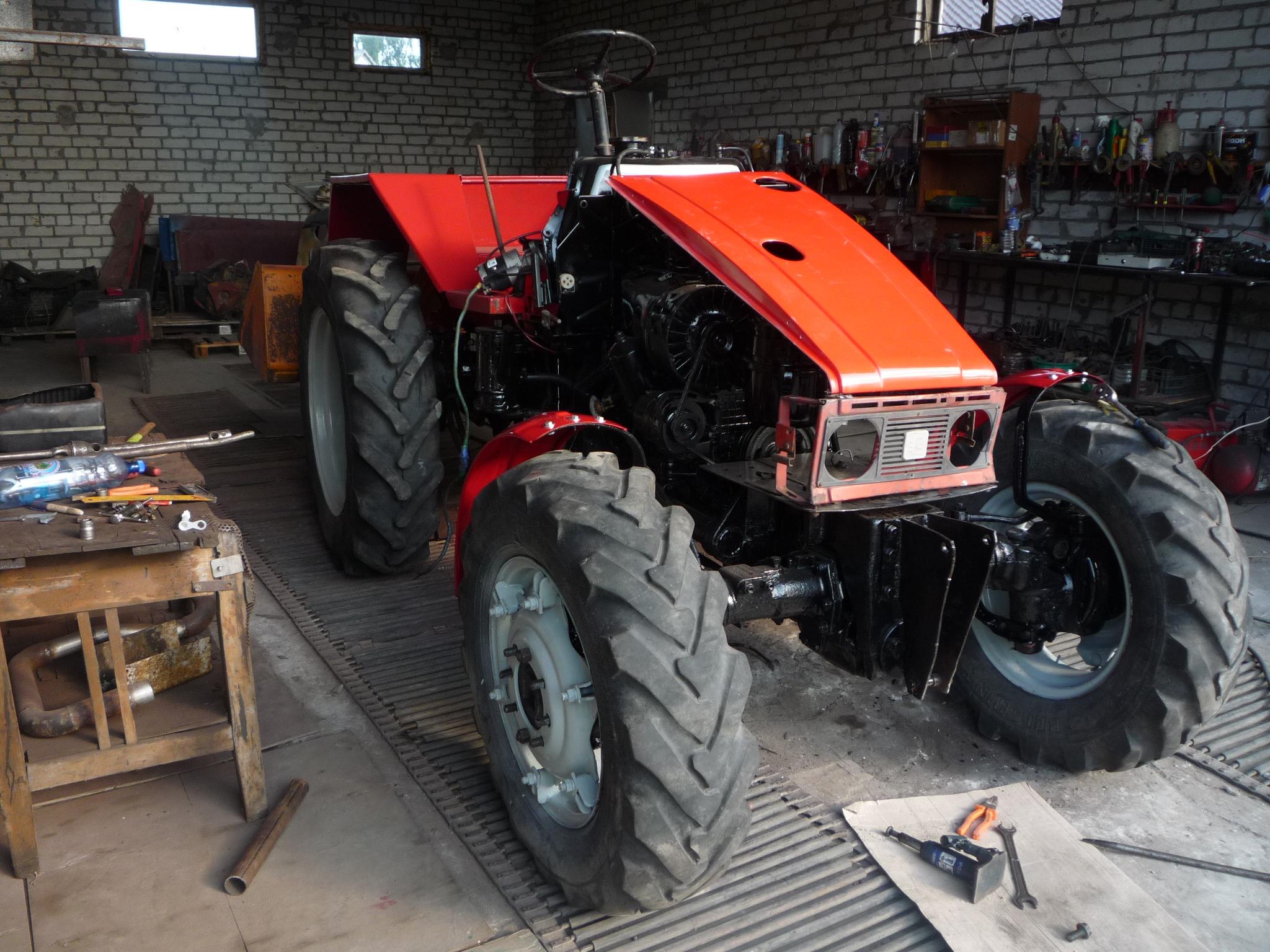 Как сделать ковш на навеску трактора   свежее, 2017 год