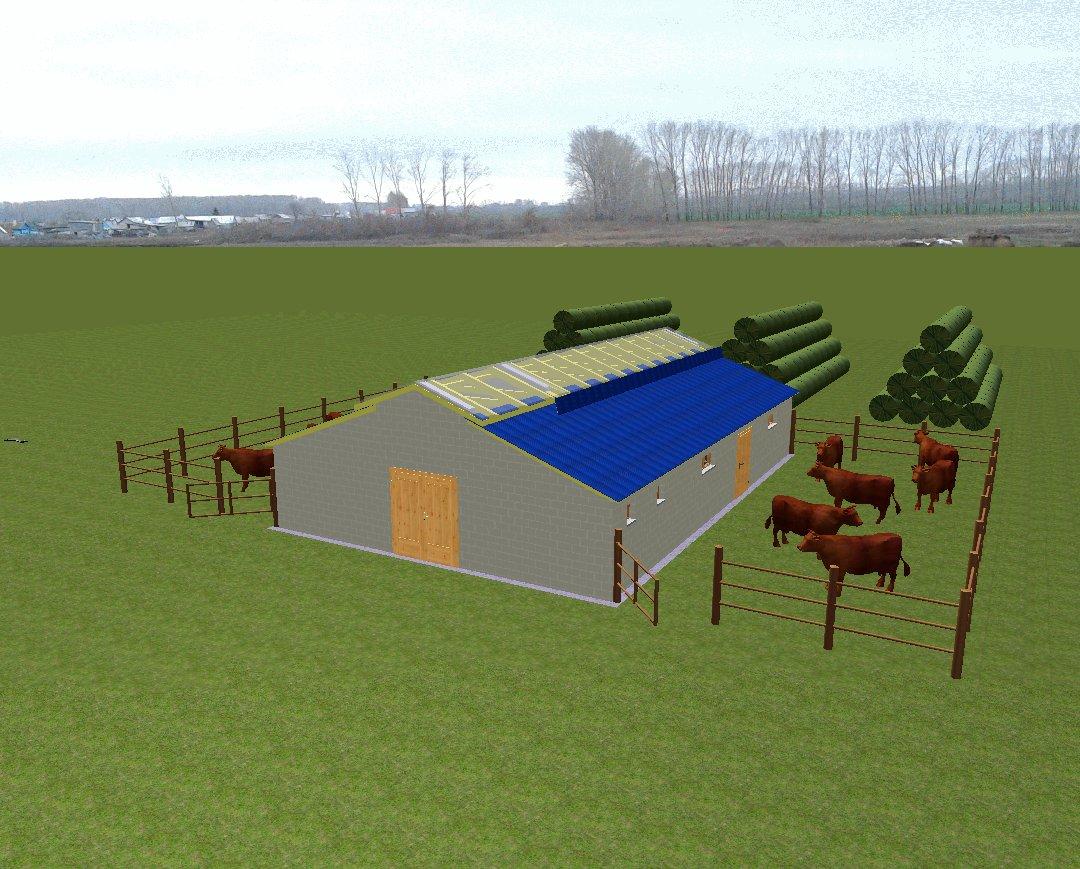 Видео фермы построенное своими руками