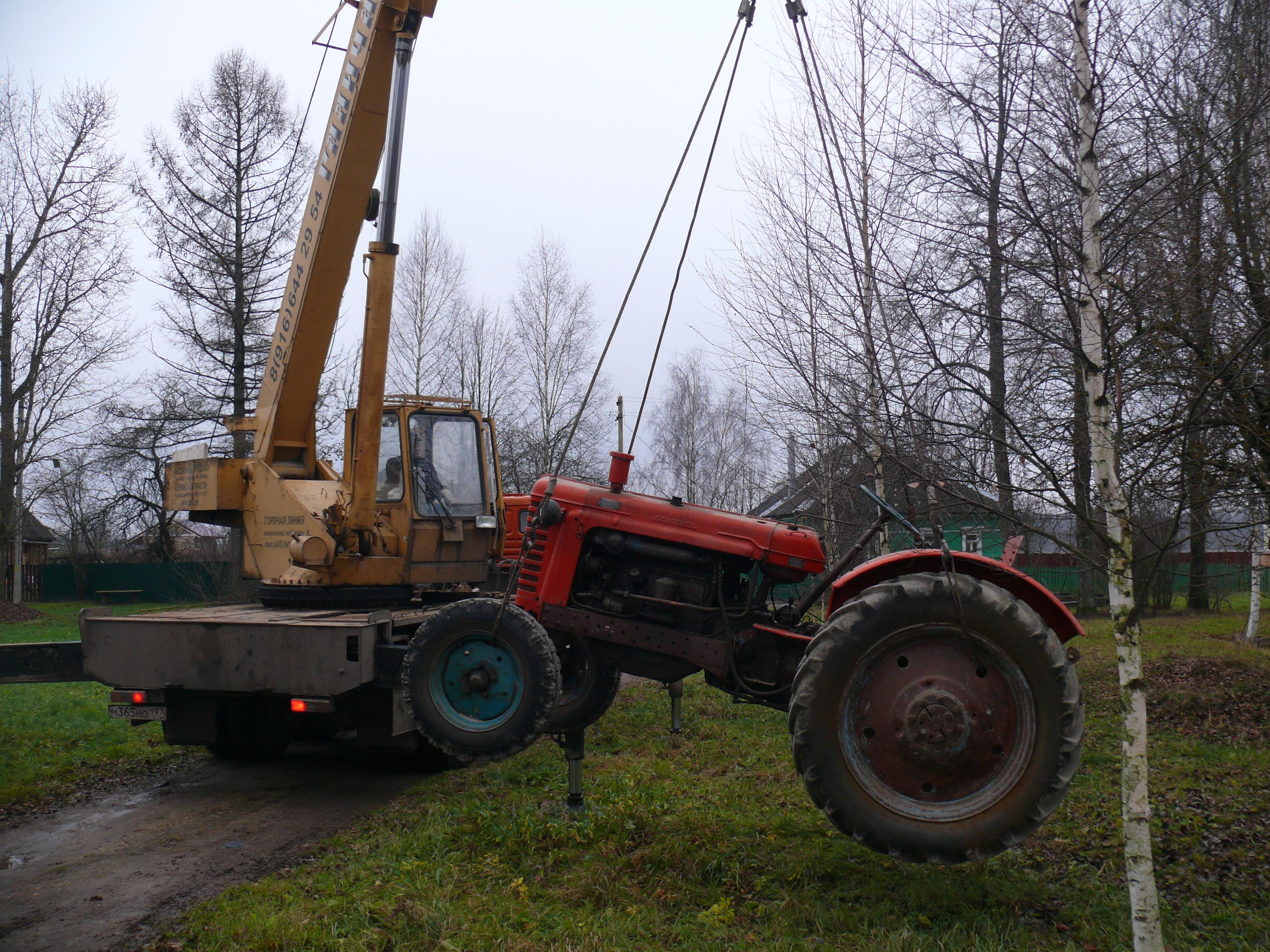 Ремонт трактора МТЗ Лопнул вал Покраска - YouTube