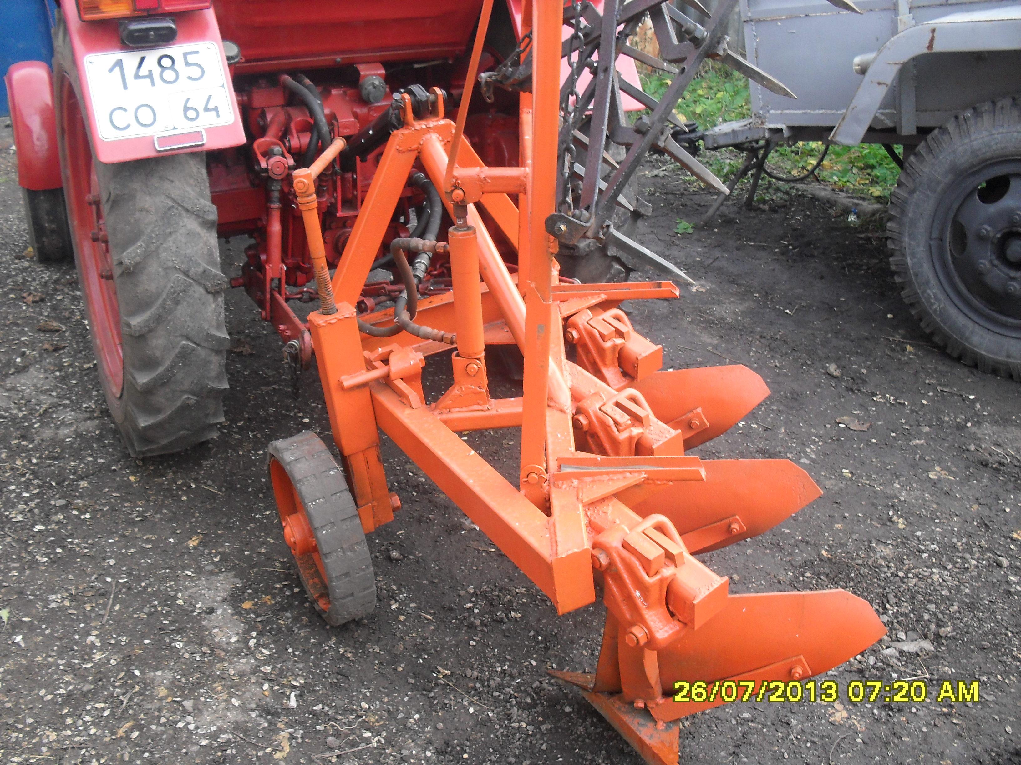 Плуги к трактору своими руками 929