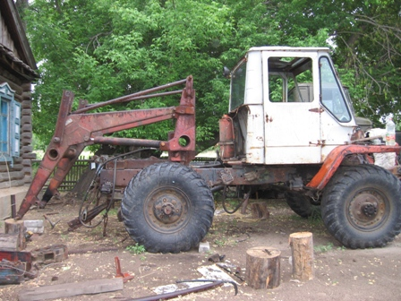 Трактор из газ 66 своими руками
