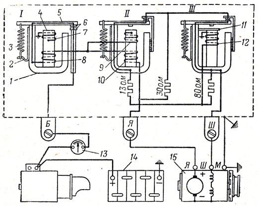 Схема генератора тз4к14