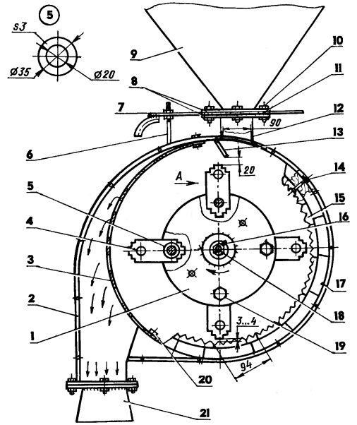 Самодельная зернодробилка своими руками чертежи