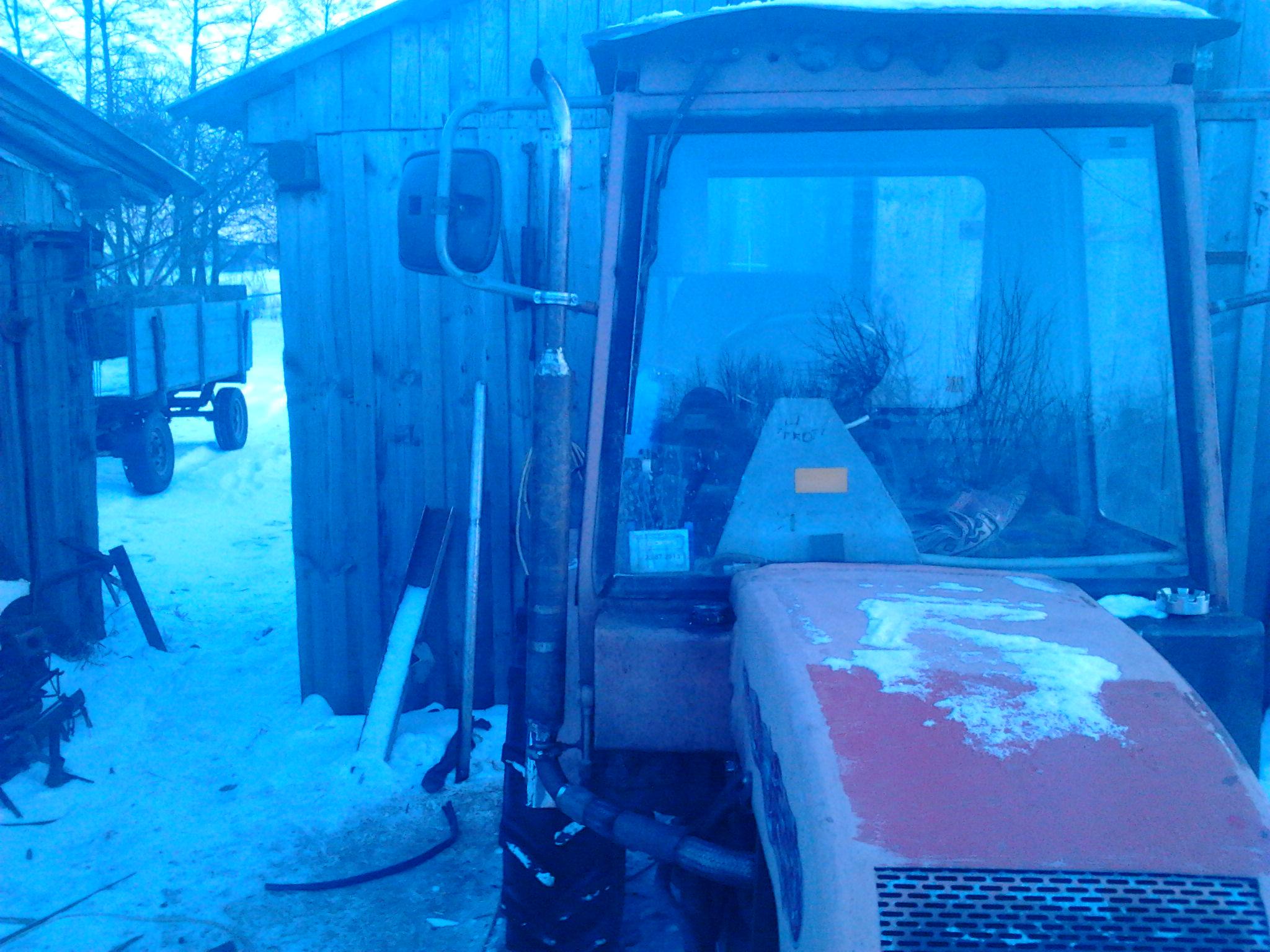 Самодельные кабины тракторов. Часть 2 | Fermer.Ru.