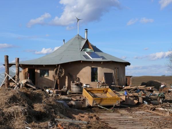 Снова дома из соломы - реализация