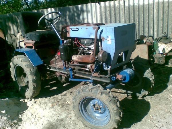 Сделать трактор своими руками