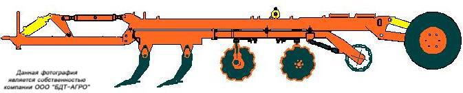 Рис.6. Борона чизельно-дисковая БЧДС-5х4КПС.