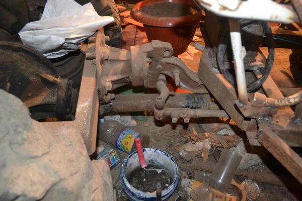 Переломный узел из ступицы ГАЗ