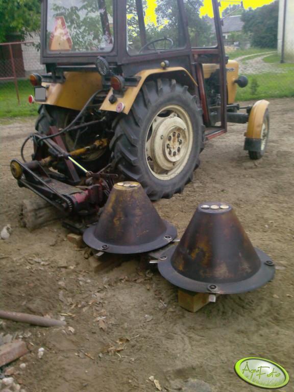 Как на самодельный трактор сделать косилку 671