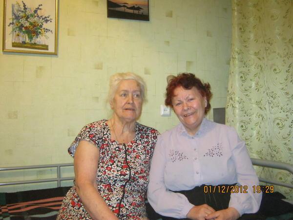 Я и Галина Дмитриевна Сапегина