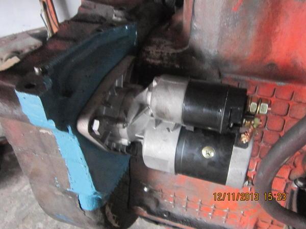 Переоборудование под насос-дозатор на ЮМЗ-6 (малая и.