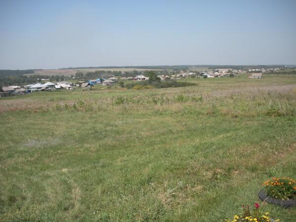 Дальняя часть села Дерябкино