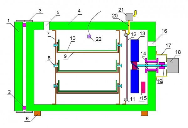 Устройство корпуса инкубатора