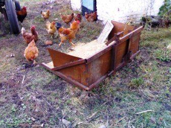 kamilka: самодельный задненавесной ковш для трактора т-25