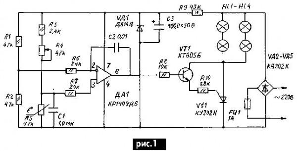 Схемы подключения инкубаторов.