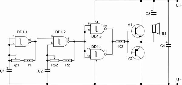 Используемые детали: Rp1 – 1.5