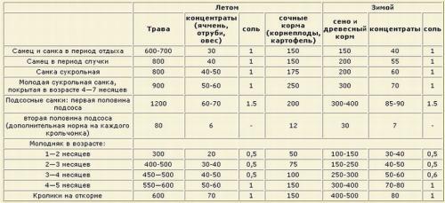 Таблица соли в продуктах на 100 грамм
