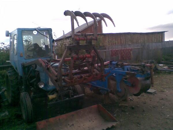 Навесное для трактора т 25 своими руками