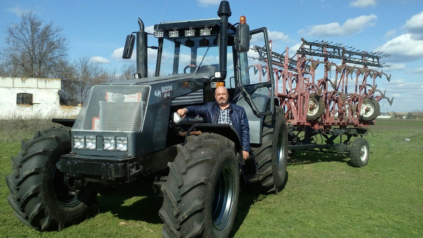 Трактор бизон своими руками 71