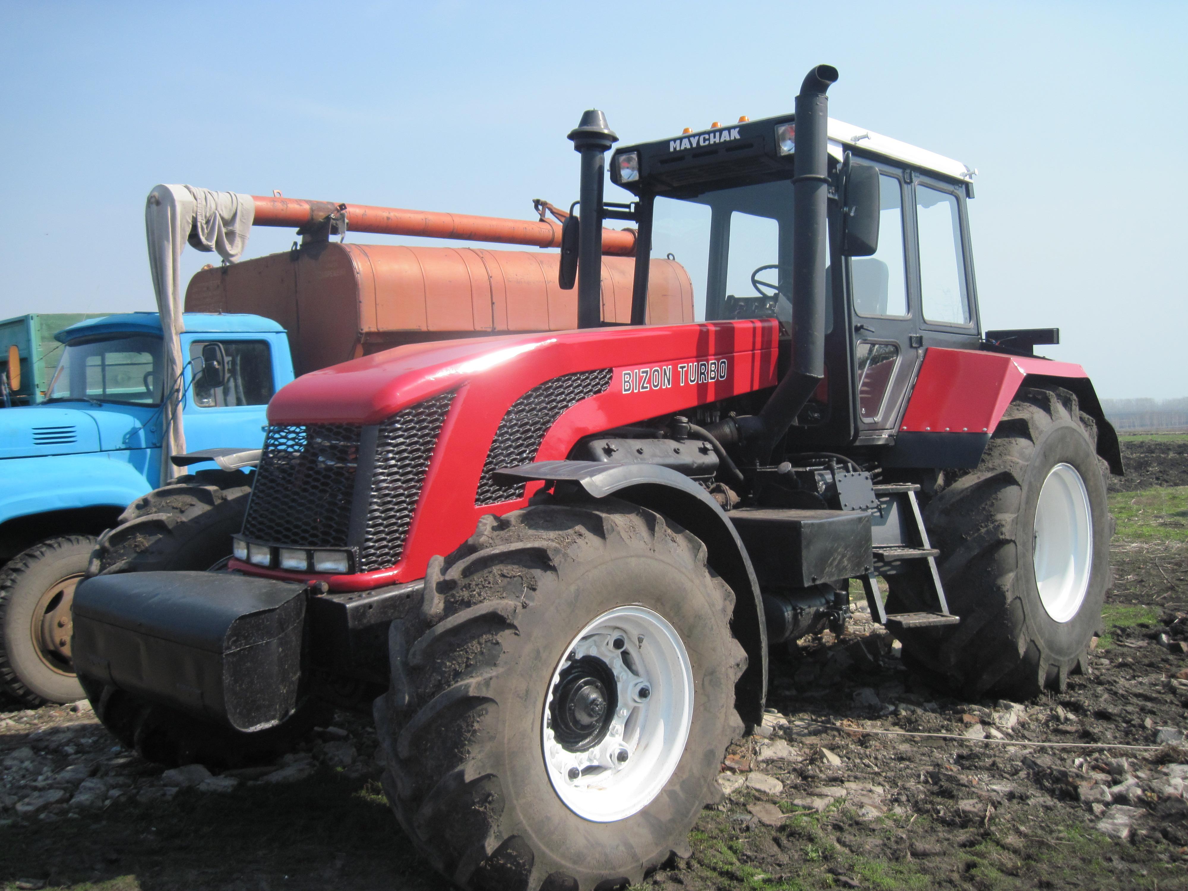 Трактор бизон своими руками 98