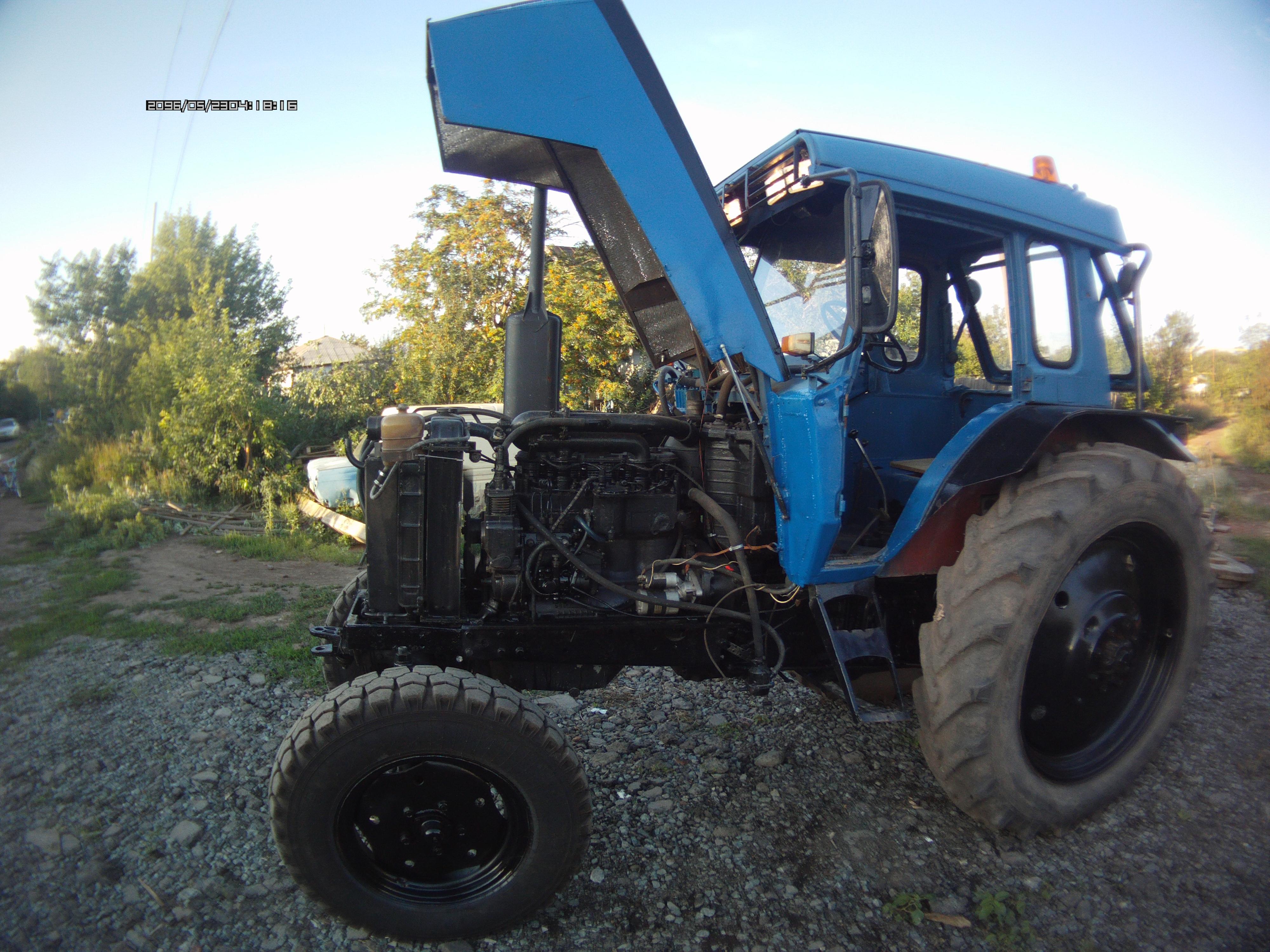 тюнинг трактора своими руками - YouTube