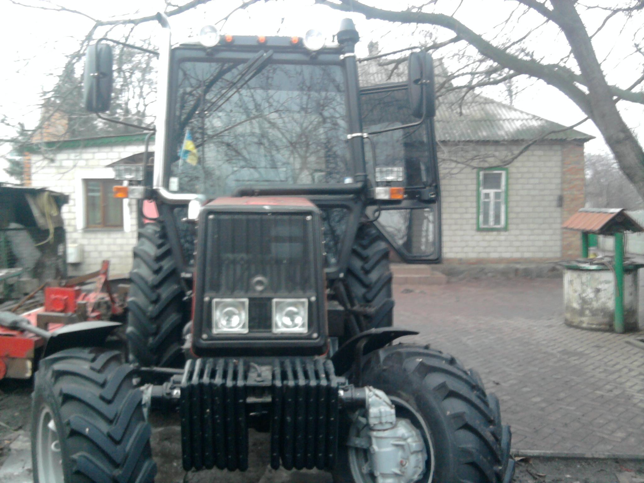 Тюнинг своими руками на трактор 80