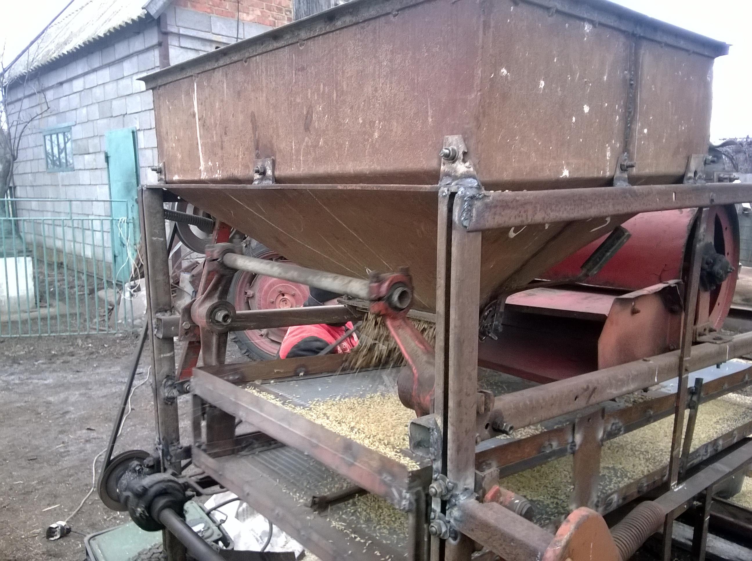 Веялка для зерна своими руками фото 576