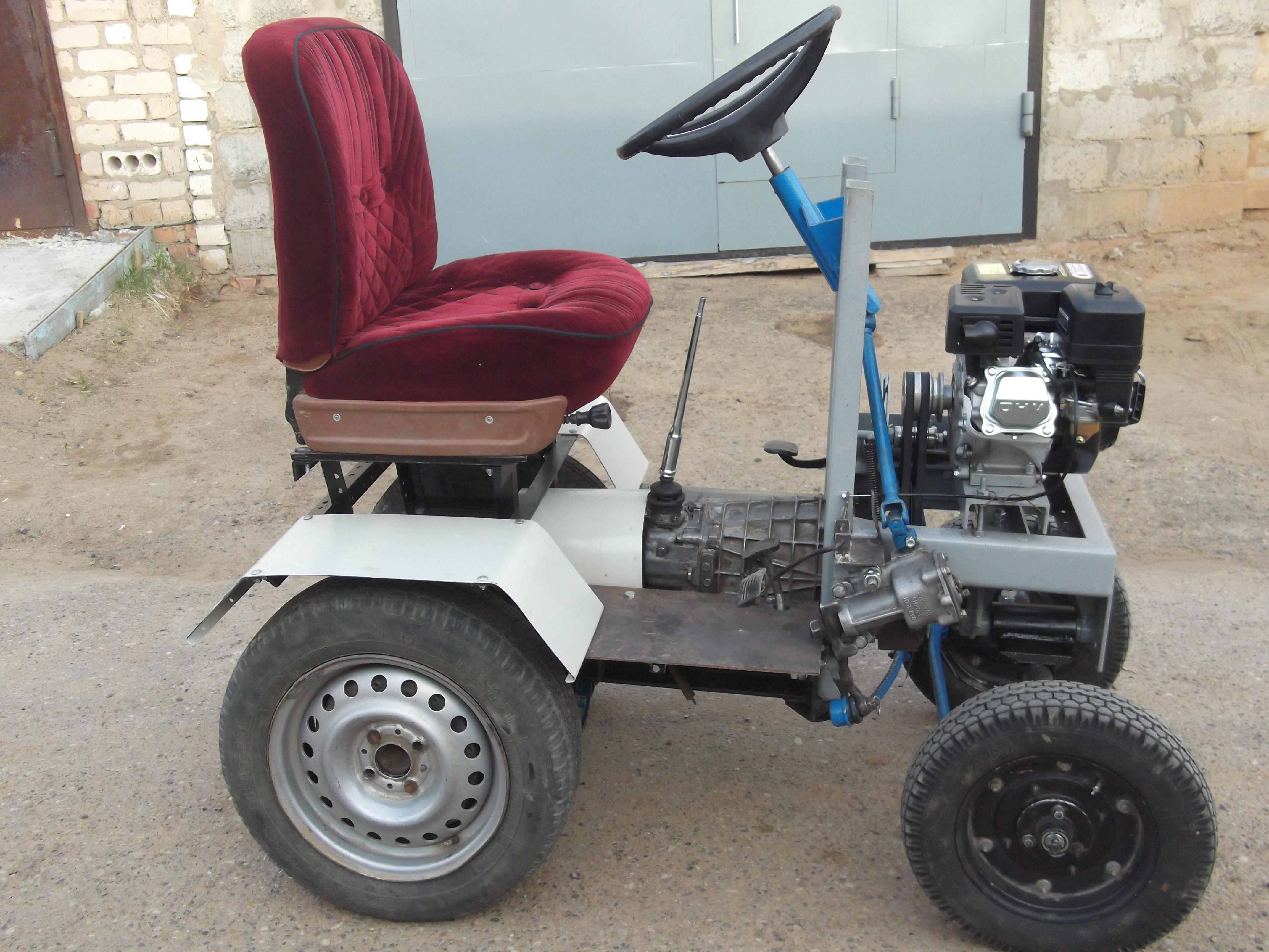 Картинки самодельных тракторов мини