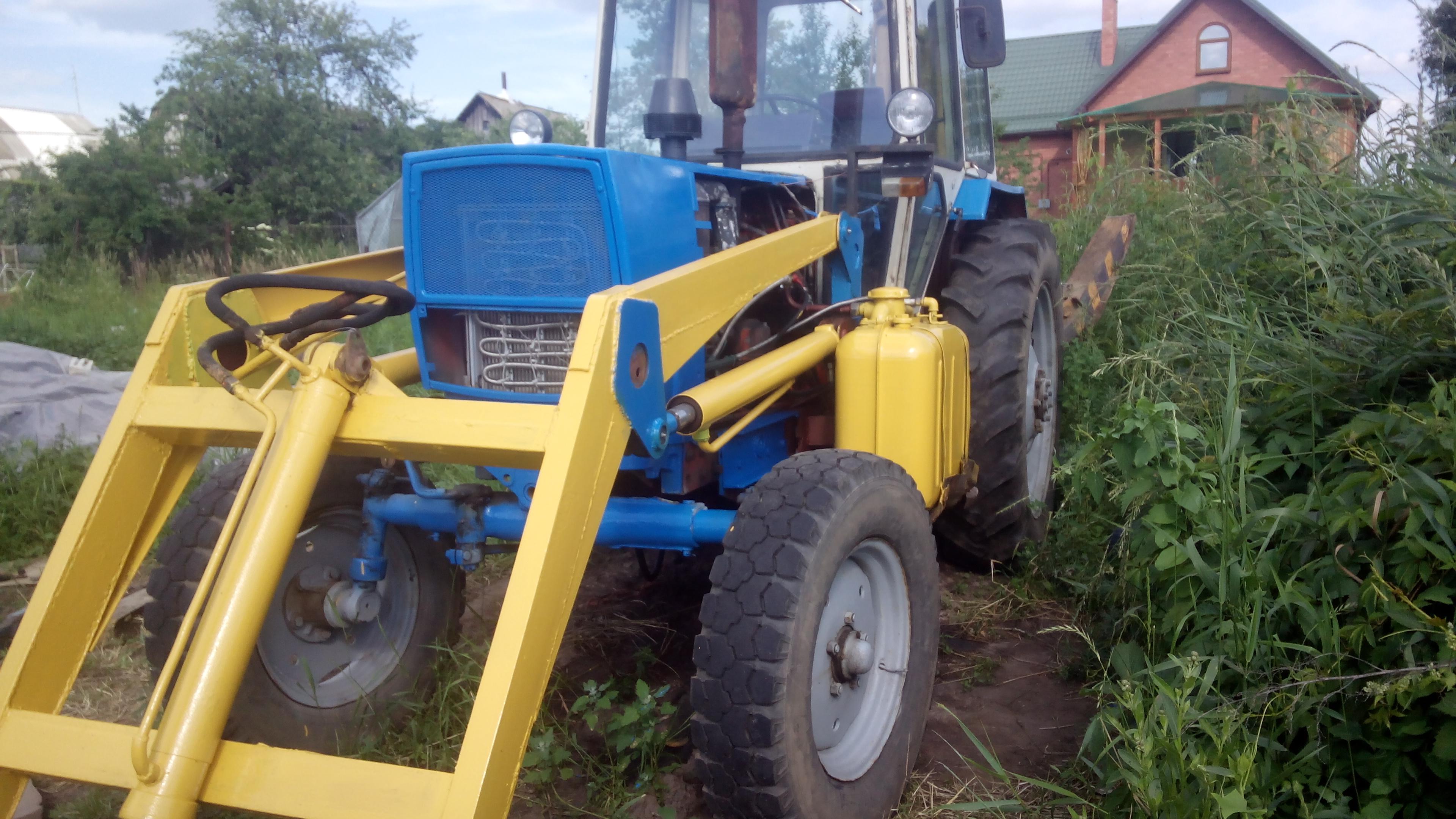 Трактор МТЗ-50 «Беларусь»: технические характеристики