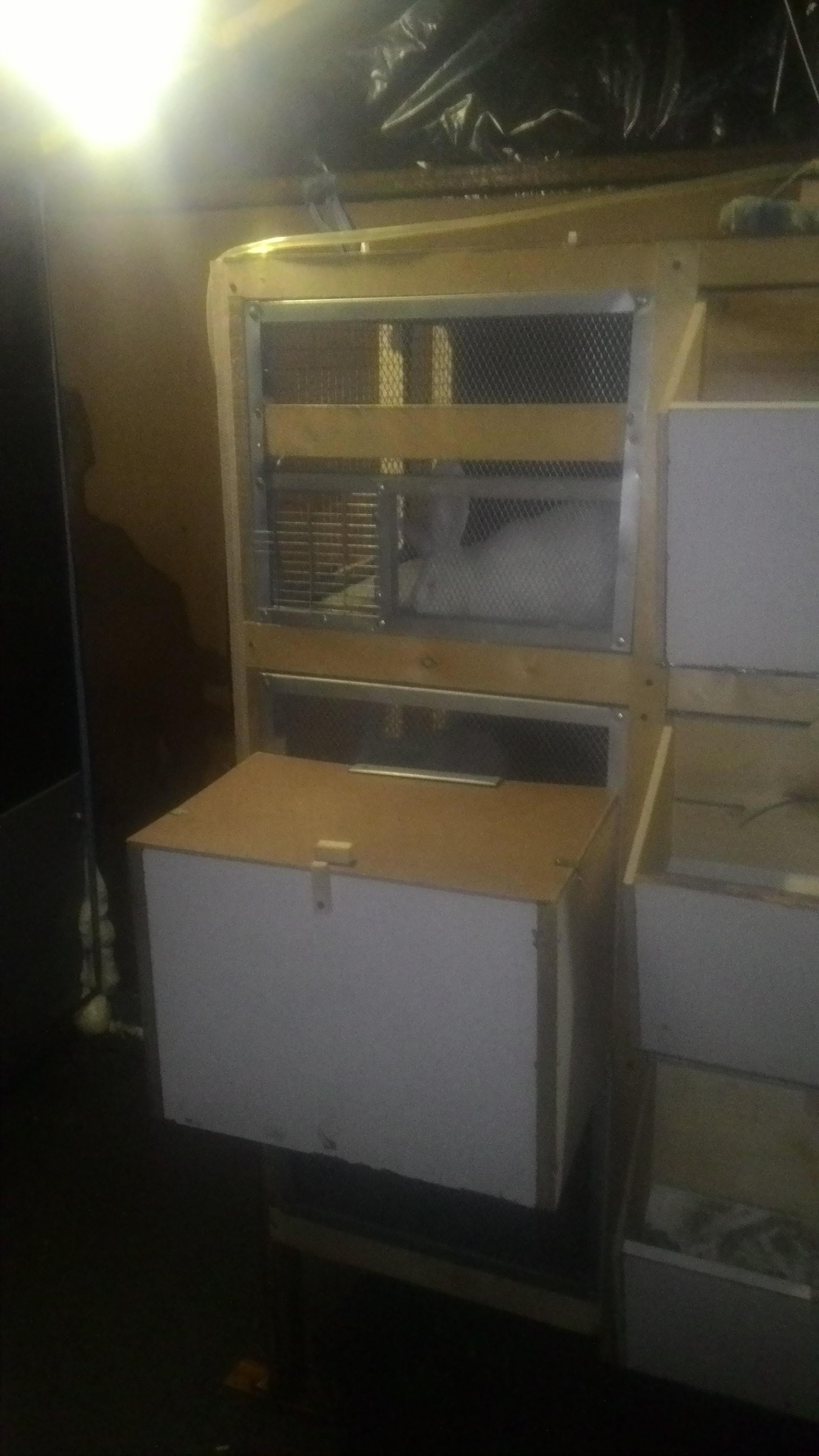 схема постройки ямы для кроликов