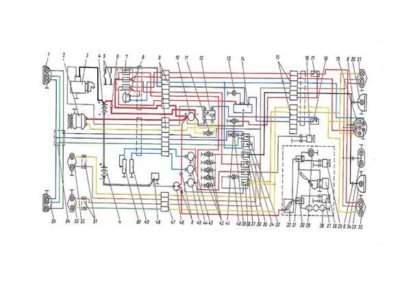 Схема подключения генератора т-25